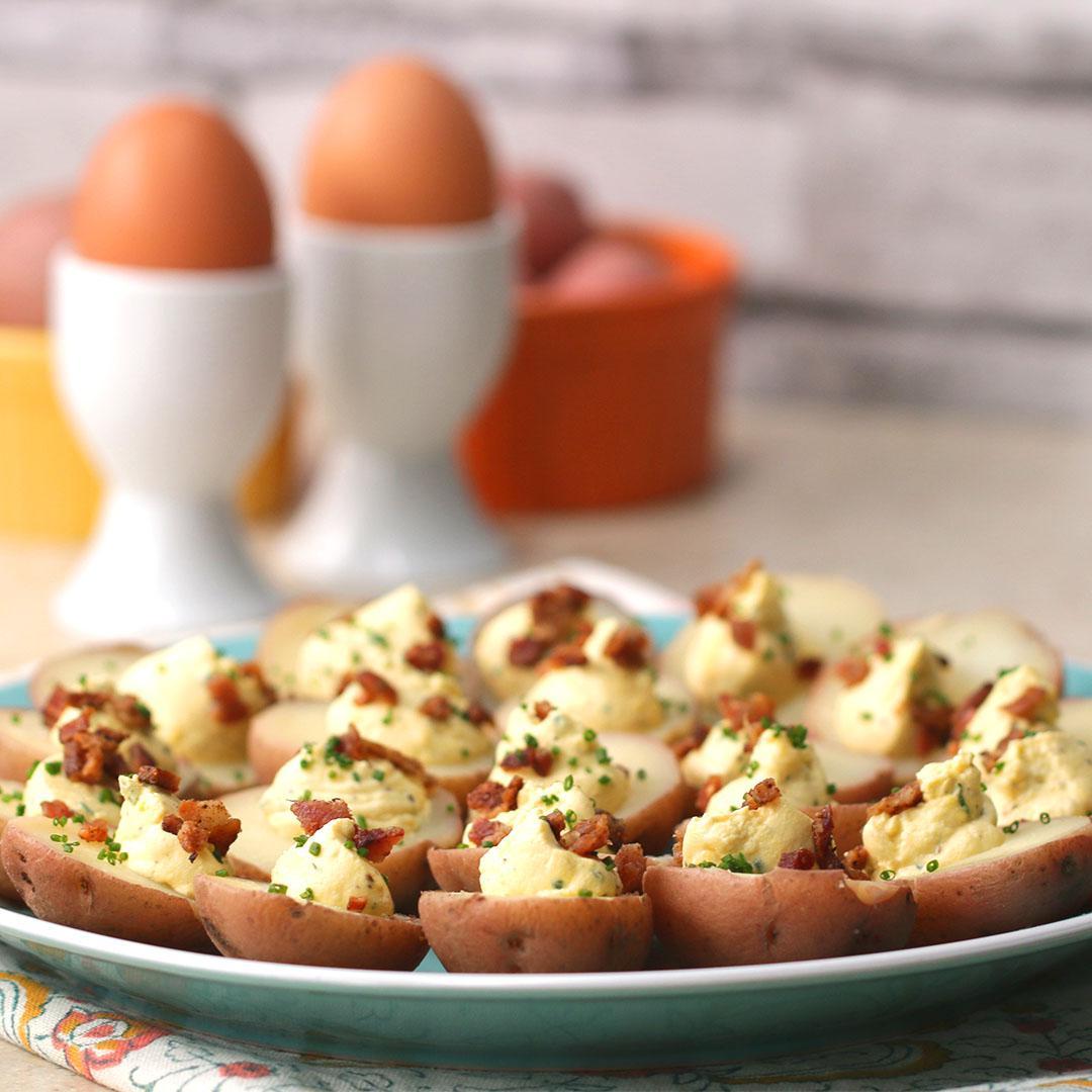 Potato Deviled Eggs Recipe by Tasty_image