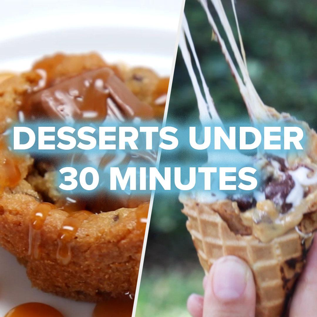 5 Quick Desserts For Last Minute Parties Recipes