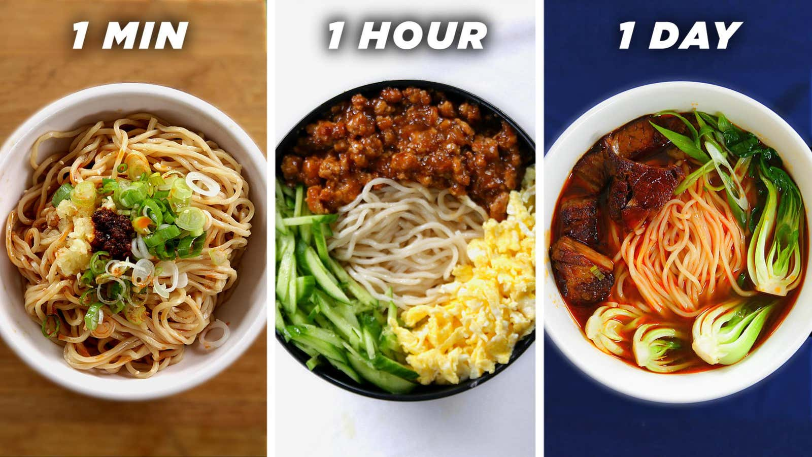 1-Day Noodles (Taiwanese Beef Noodle Soup)