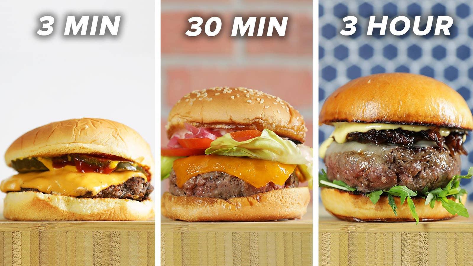 30-Minute Burger