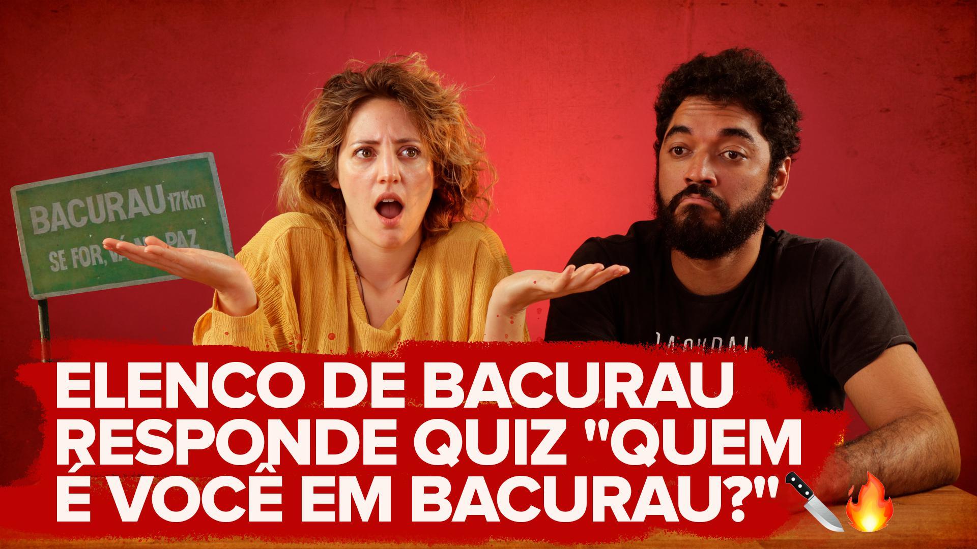 """Watch: BuzzFeed Video - Elenco de Bacurau responde quiz """"Quem é você em Bacurau?"""""""