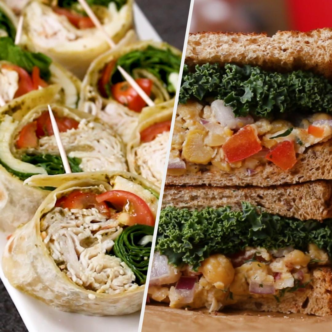 Five Packable Work Lunches Loaded With Protein Recipes