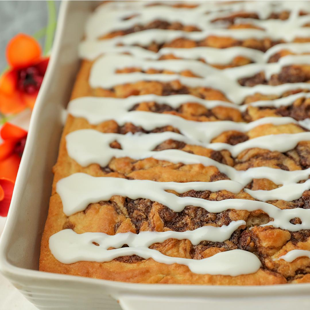 Cinnamon Roll Coffee Cake Recipe by Tasty image