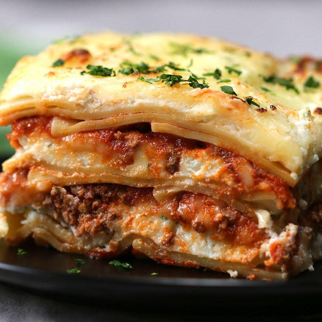 Classic Lasagna Recipe By Tasty