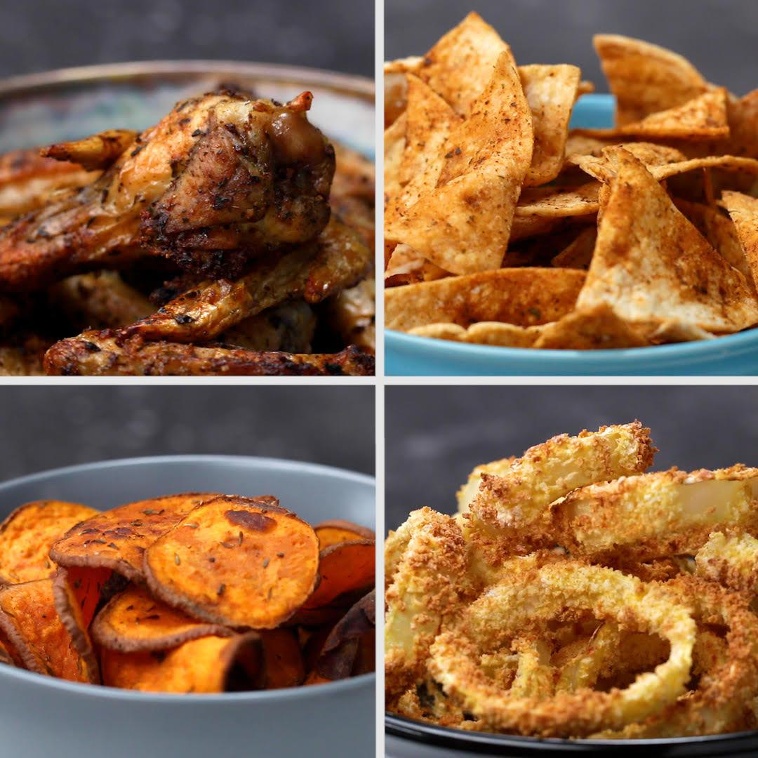 4 Easy And Zesty Air Fryer Snacks Recipes