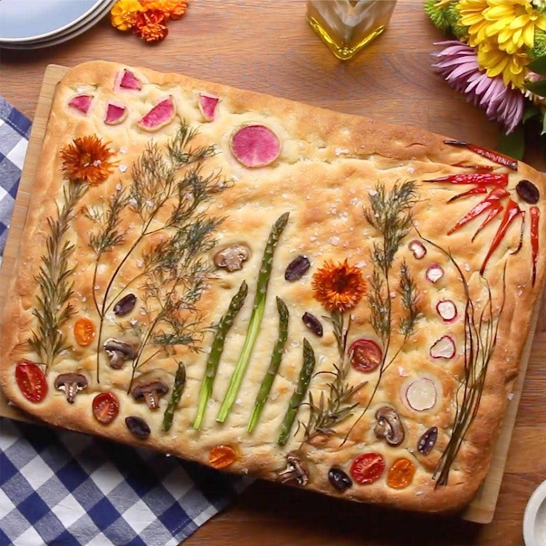 How To Make Gardenscape Focaccia