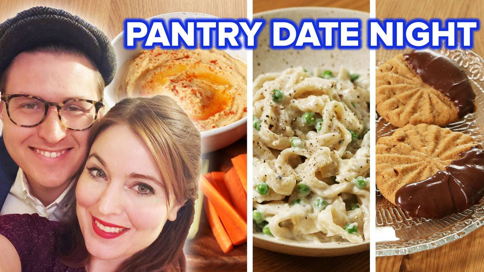 Easy Pantry Hummus