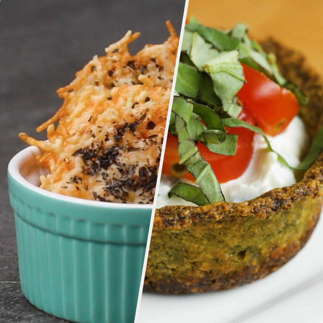 Delicious & Cheesy Low Carb Snacks | Recipes image