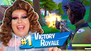 Drag Queen wins Victory Royale on Fortnite