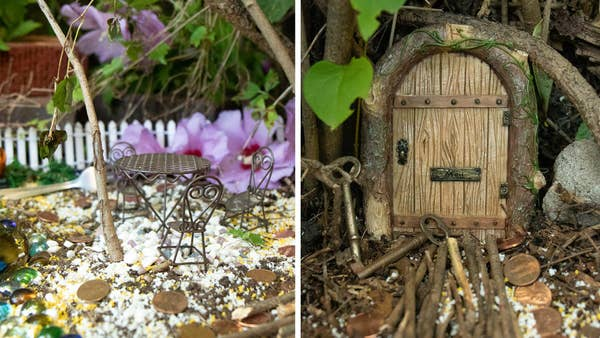 This Secret Outdoor Fairy Garden Is Magical