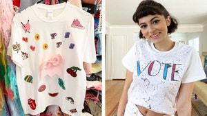 投票在风格上与这4个DIY的T恤!