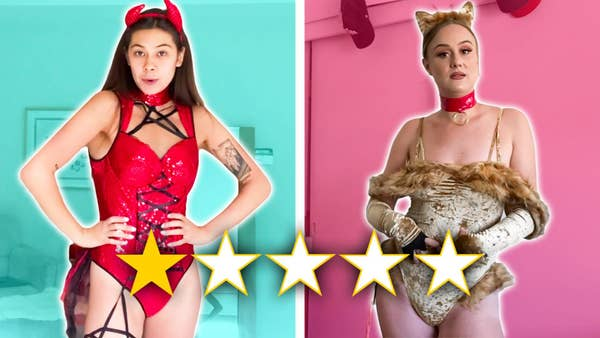 Sexy devil and sexy lion costume with 1 star rating