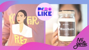 AOC for prez horchata candle