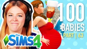 Kelsey and her sims characters.