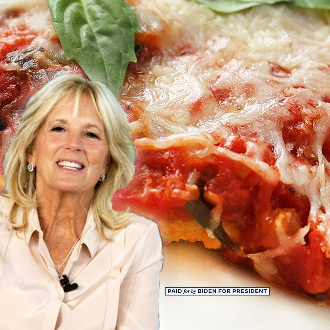 Jill Biden S Chicken Parmesan Recipe By Tasty