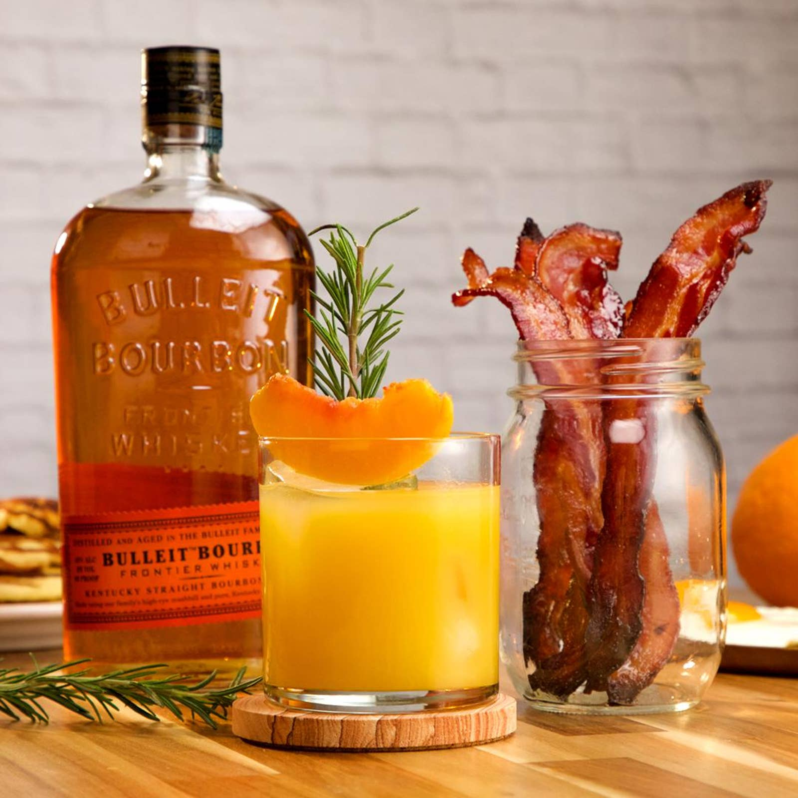 Sweet-Glazed Bourbon Bacon