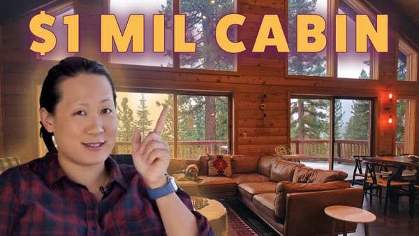 Tiffany Lo in a cabin.