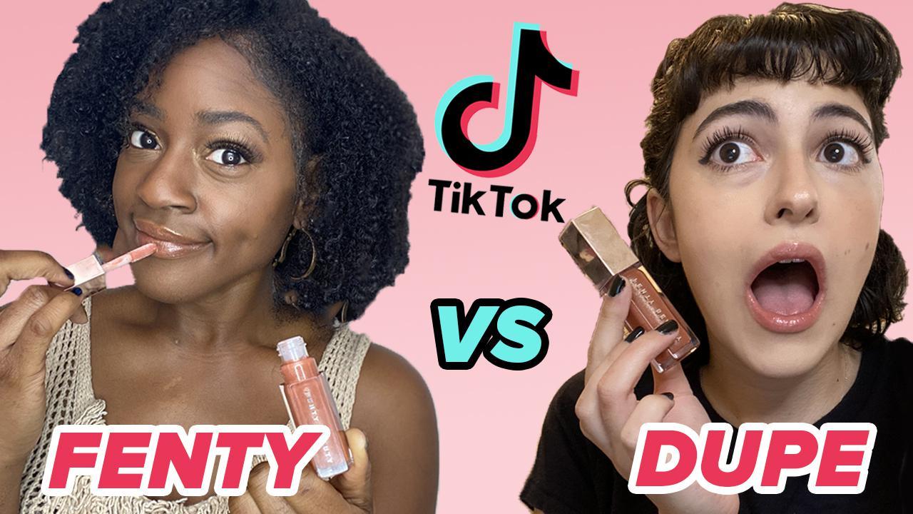 www.buzzfeed.com: We Test These Makeup Dupes From TikTok