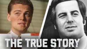 Leonardo DiCaprio and Frank Abignale Jr.