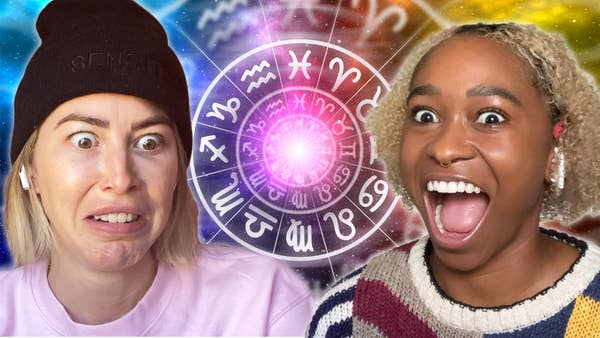 Freddie and Kelsey are shocked by their astrology quiz results.