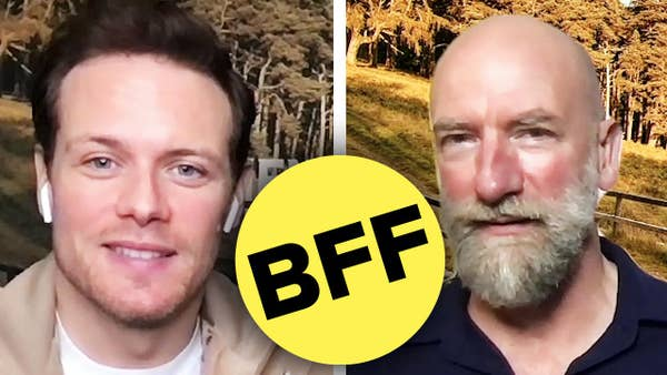 Sam Heughan and Graham McTavish