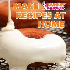 Make Dunkin' Donut Recipes At Home