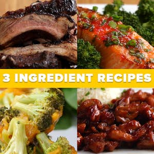 3 Ingredient Recipes For An Entire Week