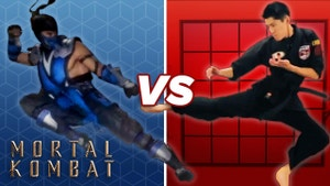 Ash and Sub-Zero face-off