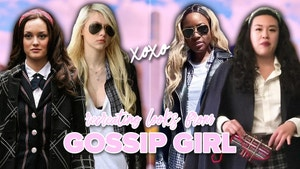 """Vivian and Yiwa with their """"Gossip Girl"""" inspired outfits."""