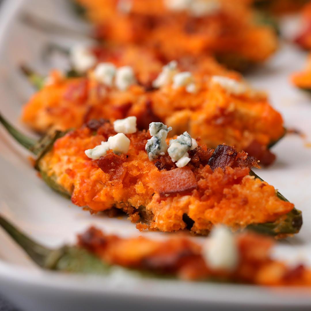 Buffalo Chicken Jalapeño Poppers Recipe by Tasty image