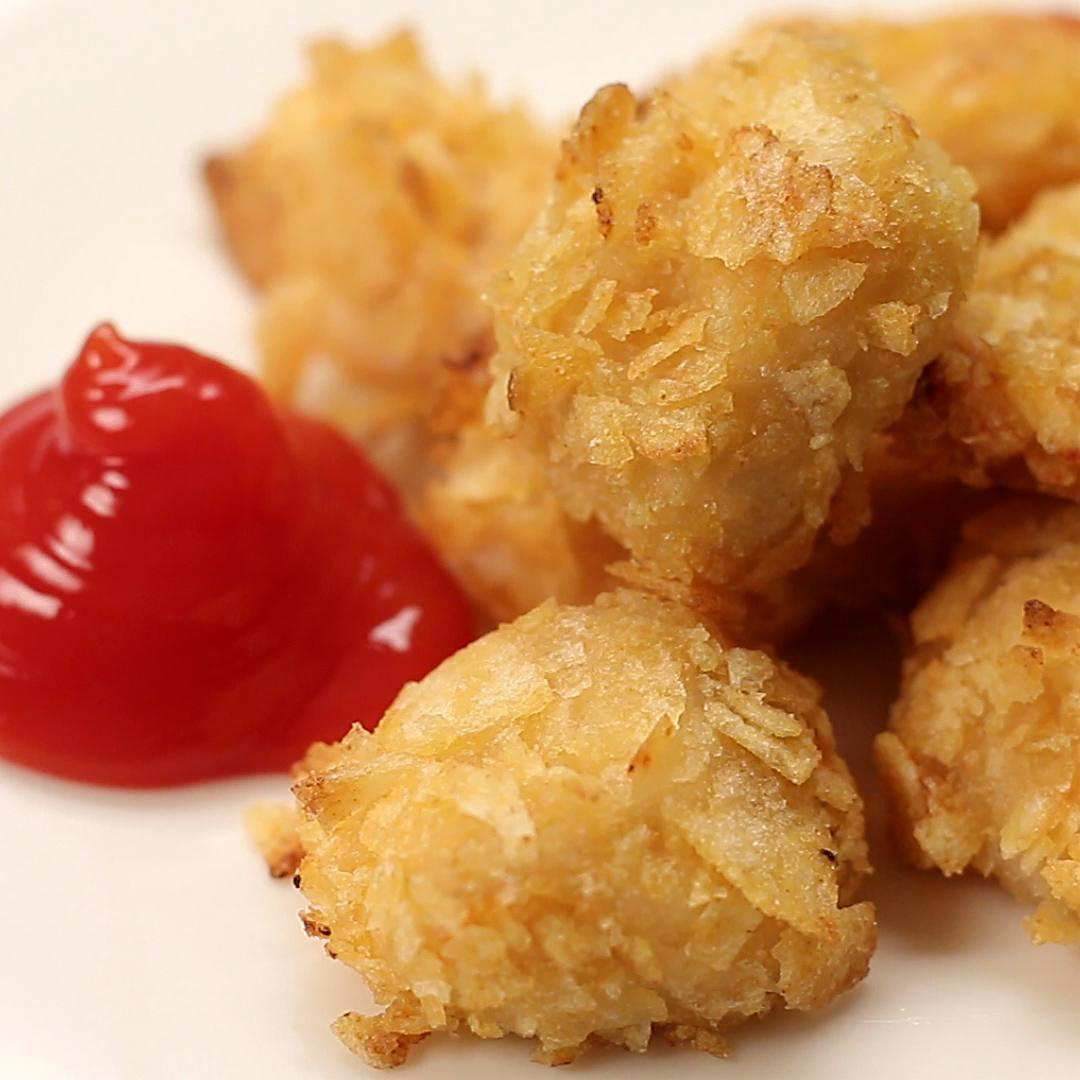 Crisp Coated Chicken Nuggets Recipe By Tasty