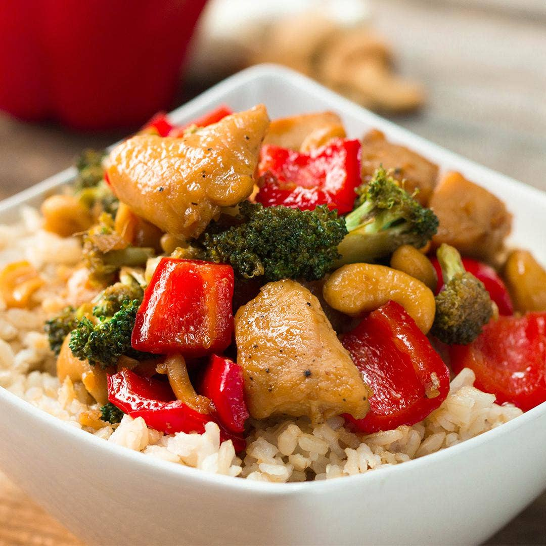 Cashew Chicken Stir Fry Recipe By Tasty