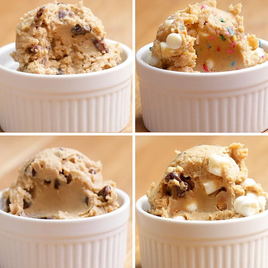 Chocolate Chip Chickpea Cookie Dough