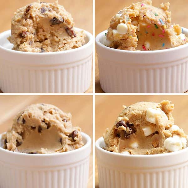 Birthday Cake Chickpea Cookie Dough