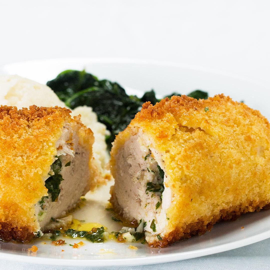 Garlic Butter Stuffed Chicken Recipe By Tasty