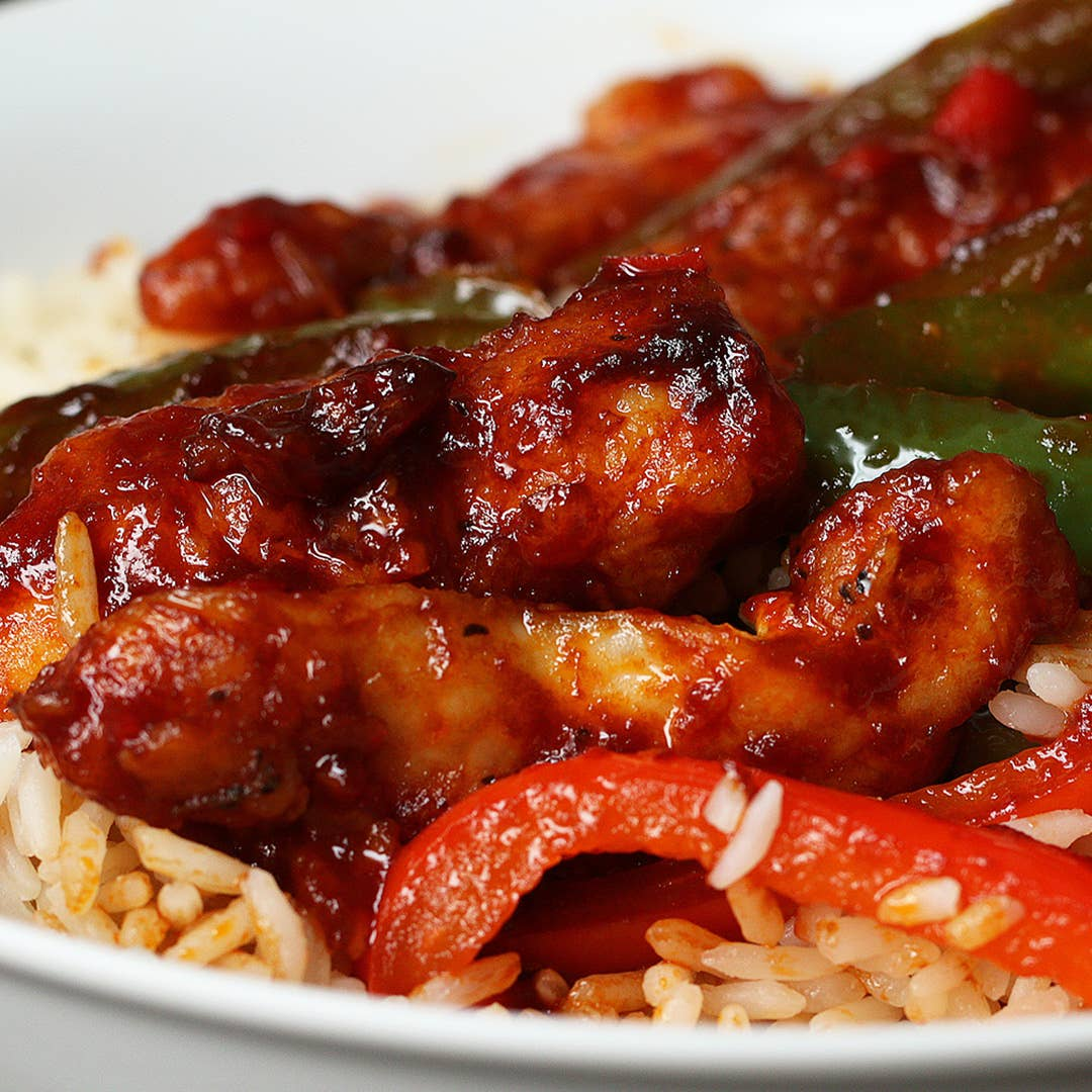 Simple Chilli Chicken Recipe By Tasty