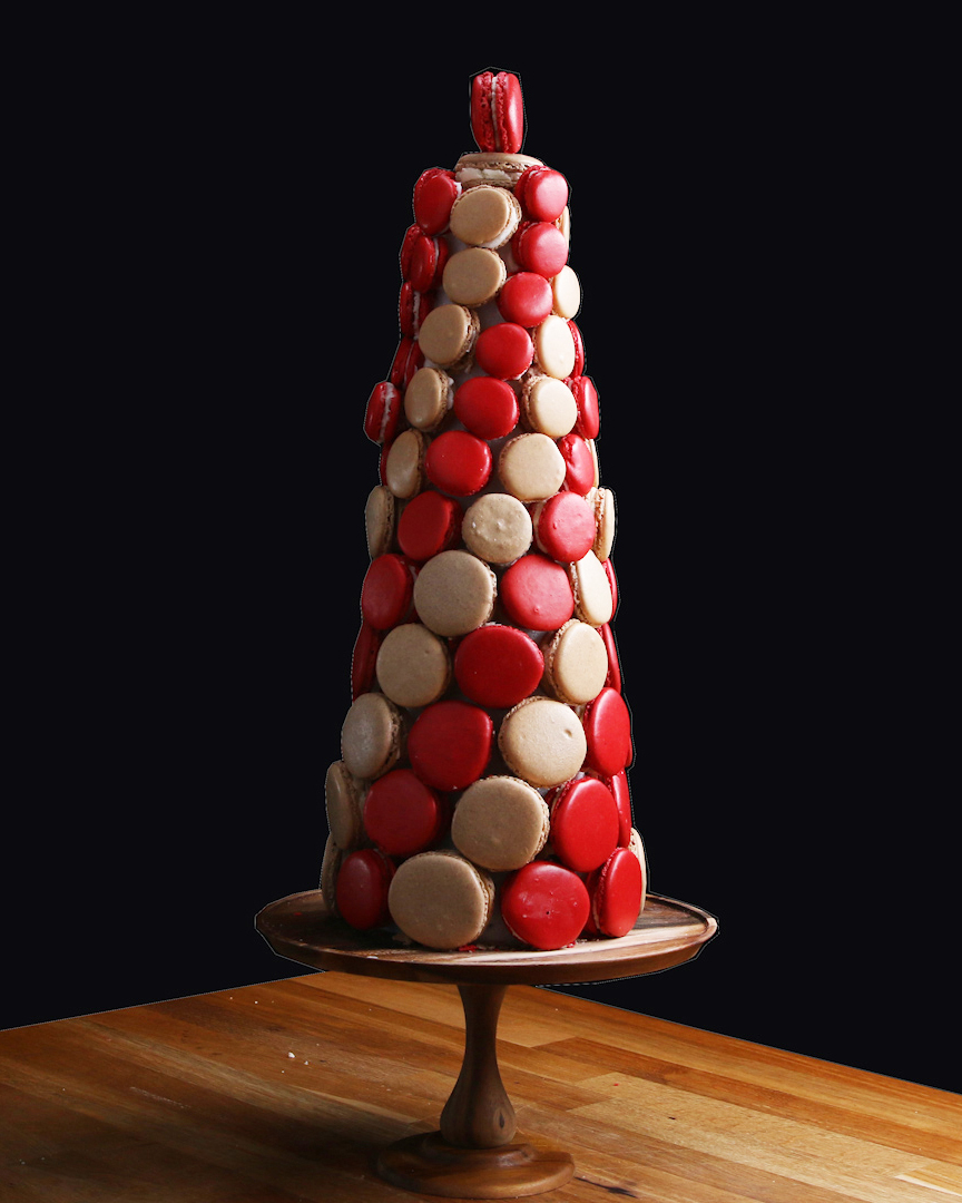 Holiday Macaron Tower Recipe By Tasty