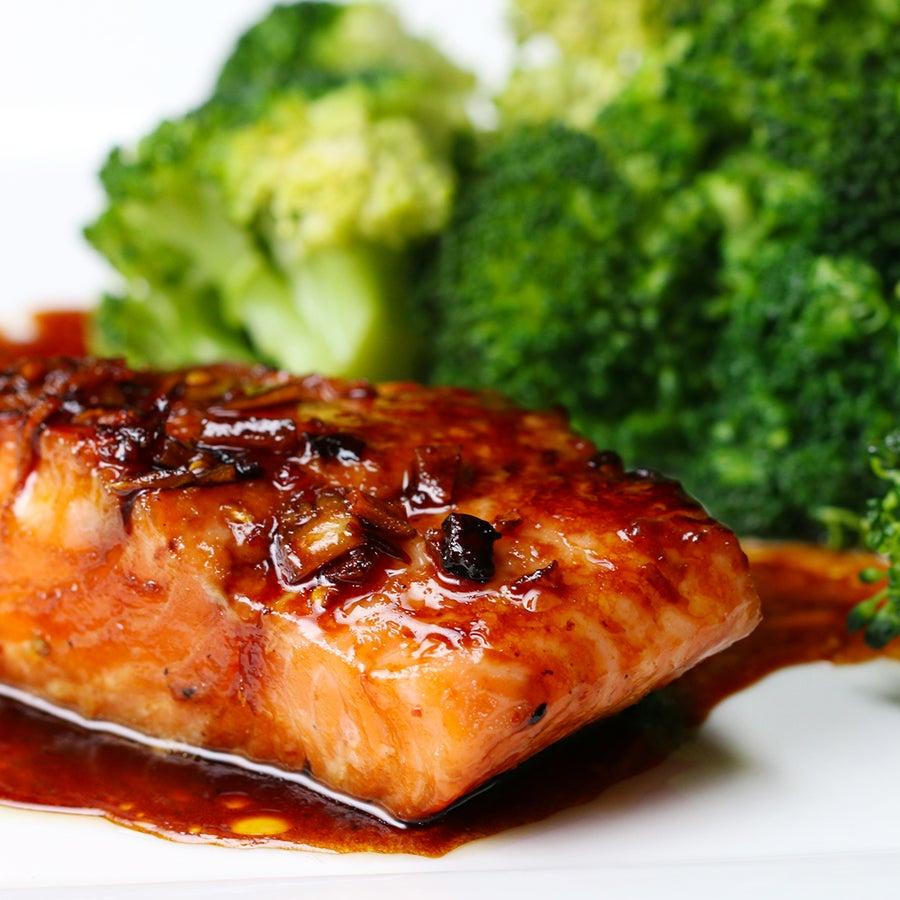 Honey Soy Glazed Salmon