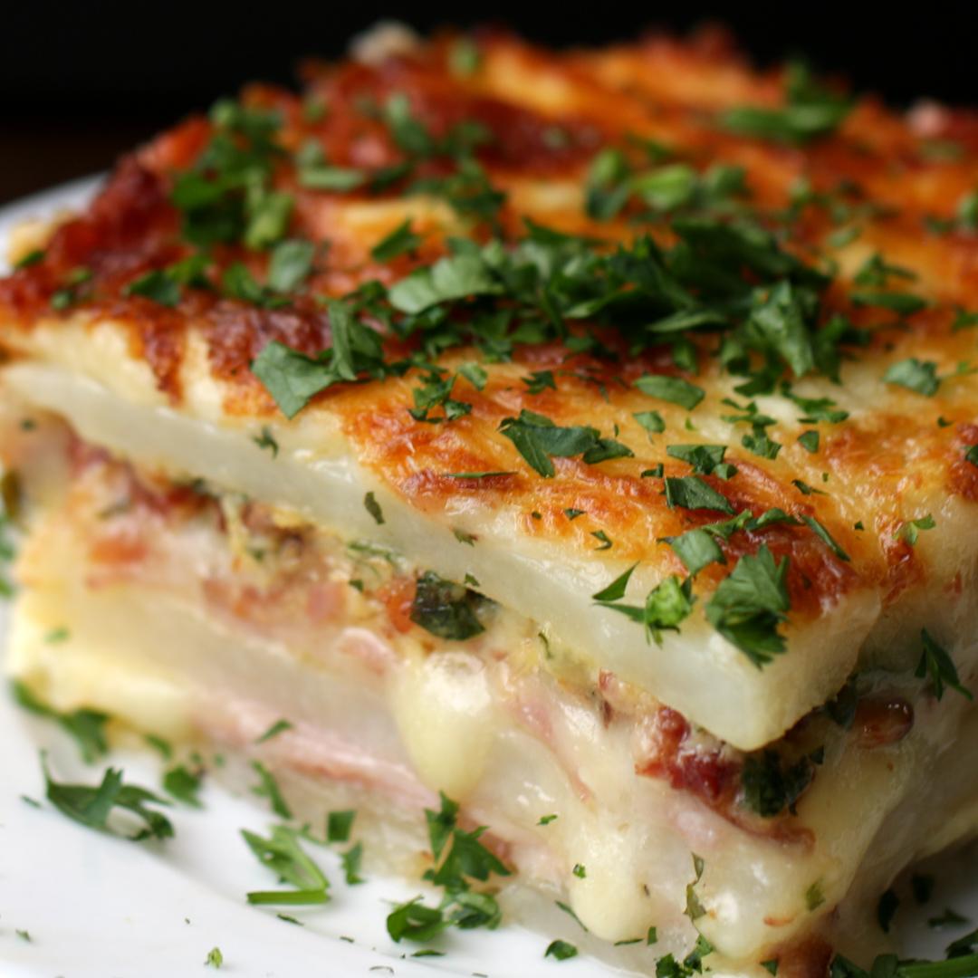 Potato Lasagna Recipe By Tasty