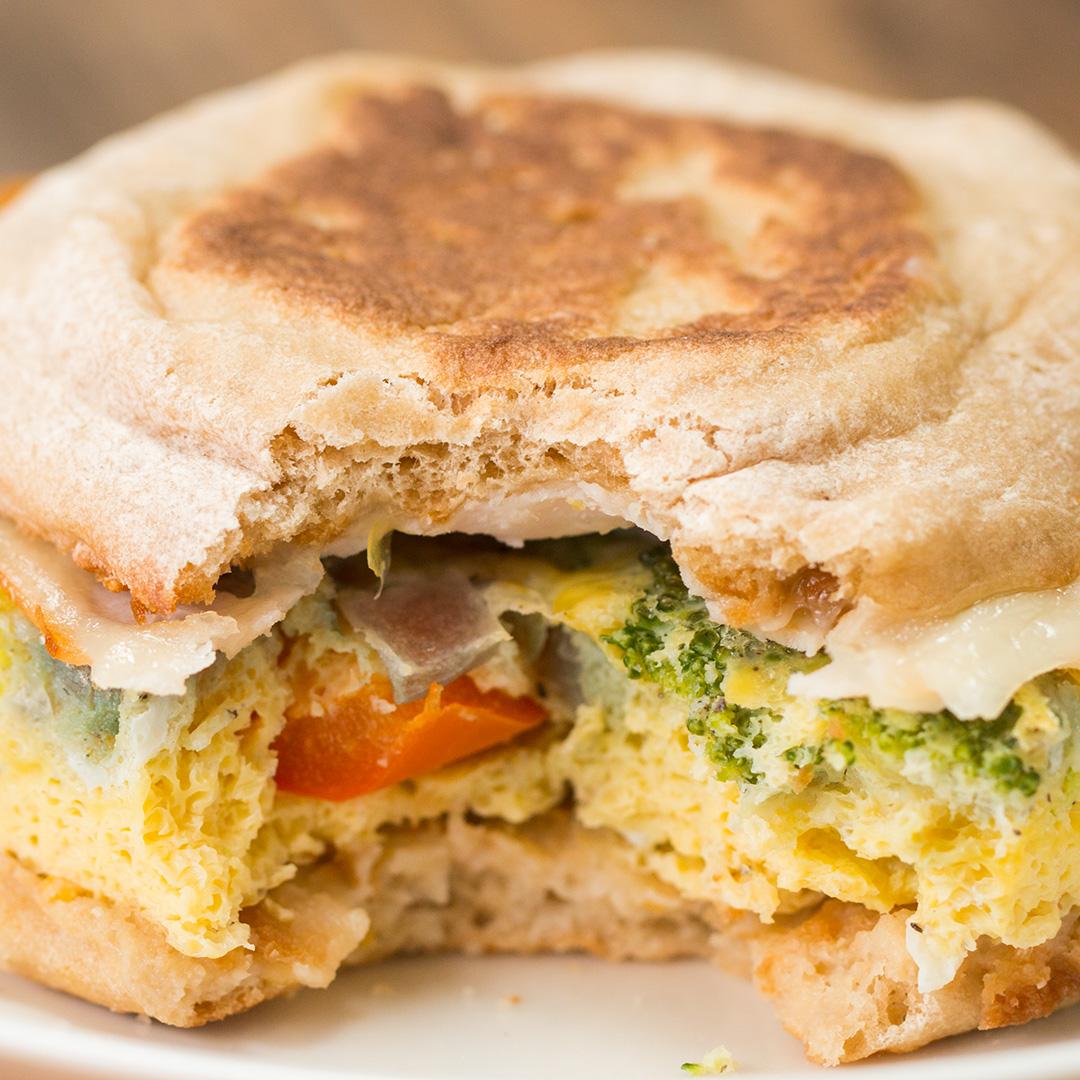 Breakfast Sandwich Meal Prep Recipe By Tasty