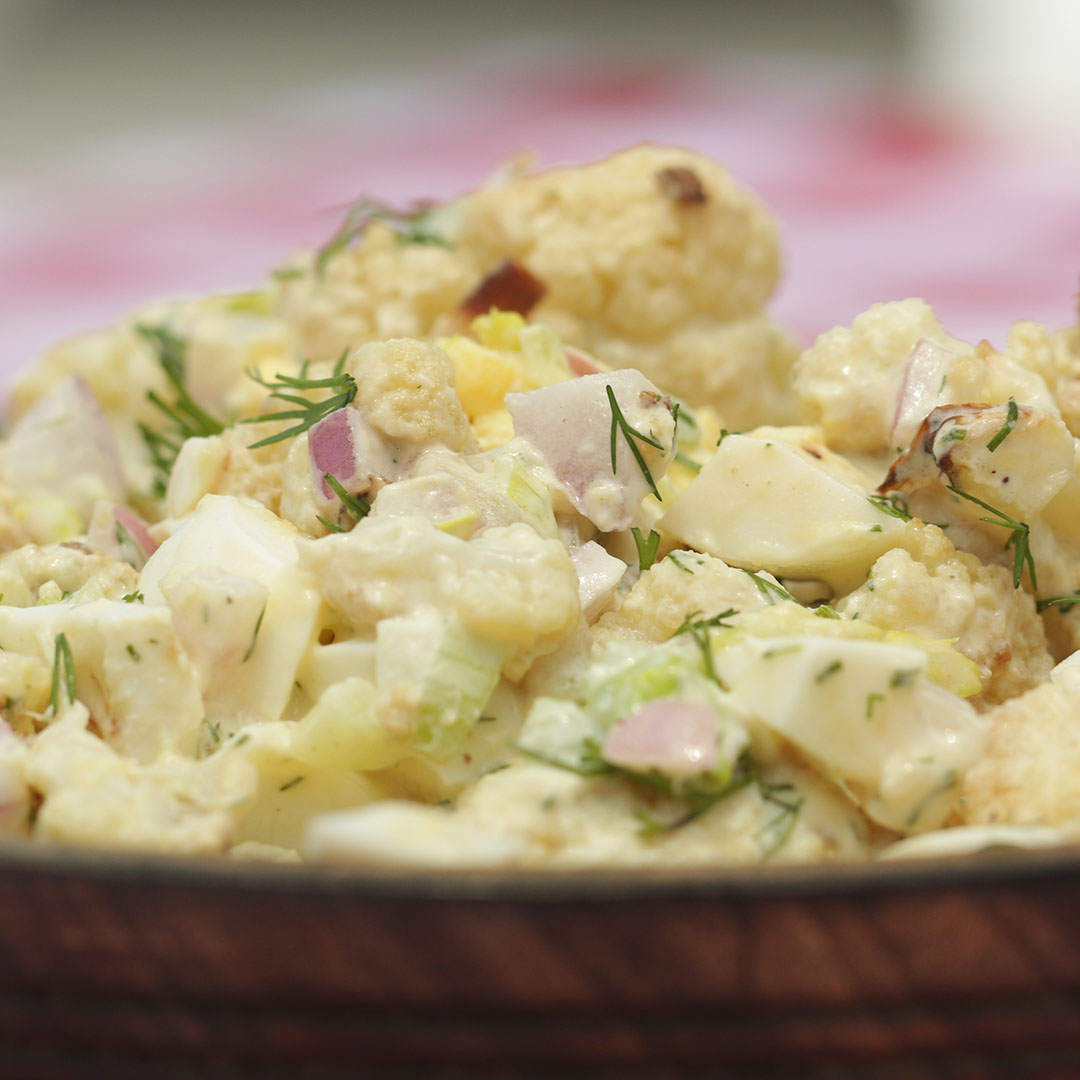 Cauliflower Quot Potato Salad Quot Recipe By Tasty