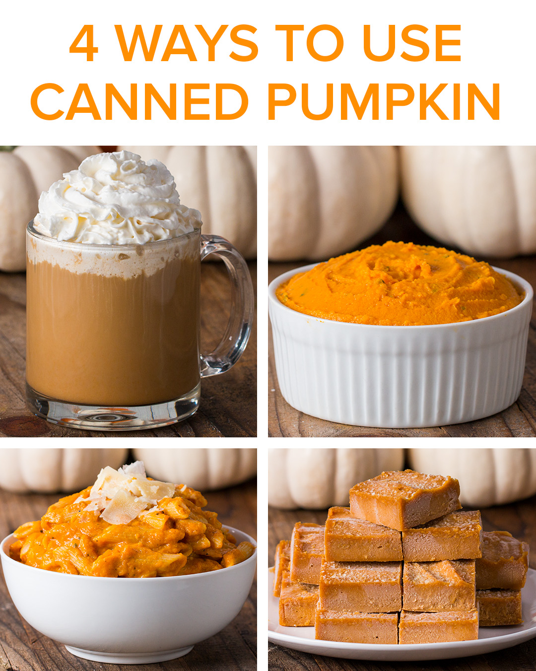 10 Ways To Use Canned Pumpkin  Recipes