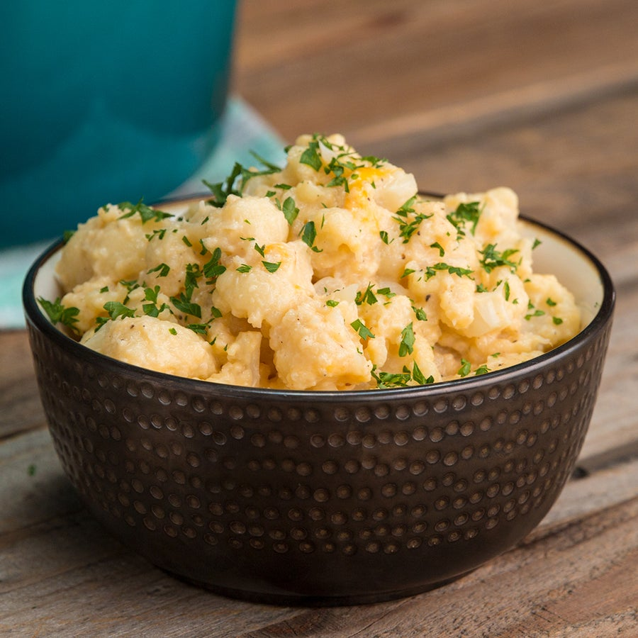 5-Ingredient Cauliflower Mac 'N' Cheese