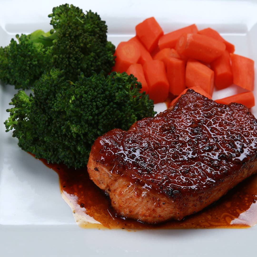 Easy Glazed Pork Chops Recipe By Tasty