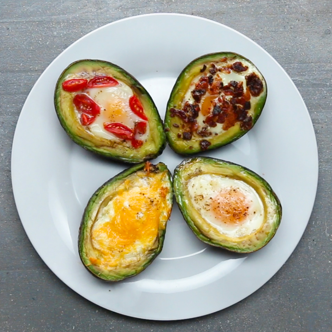 Baked Avocado Eggs Recipe by Tasty