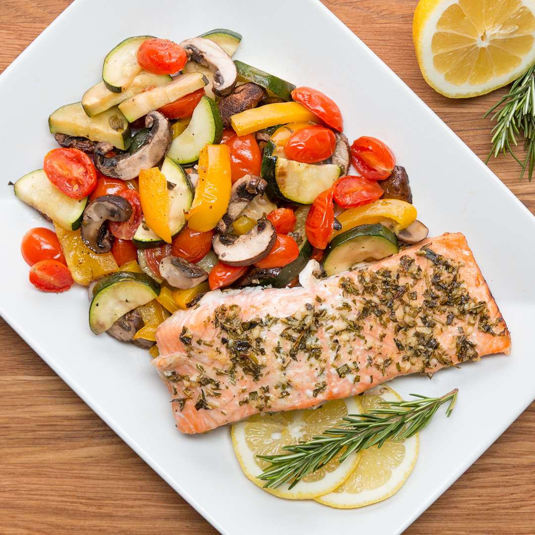 Easy Salmon Dinner Recipe By Tasty
