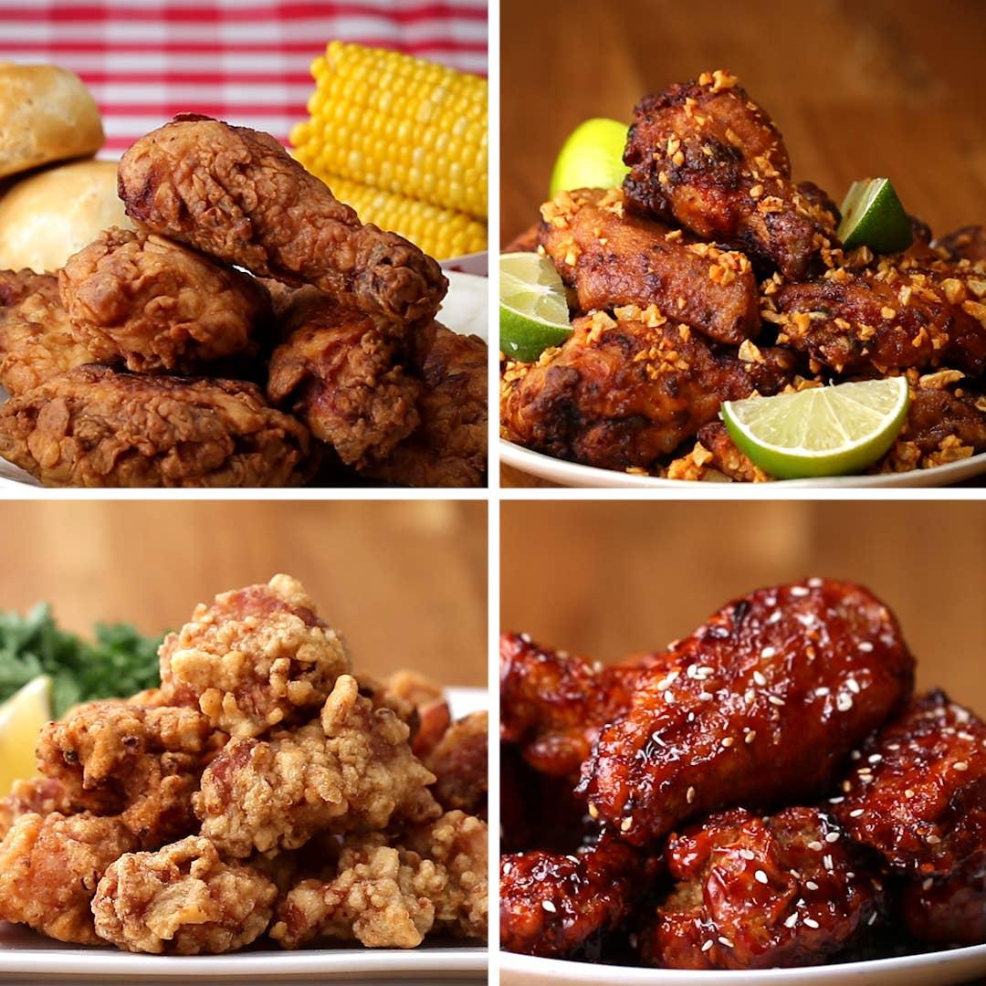 12+ Fried Chicken from Around the World   Recipes Bilder