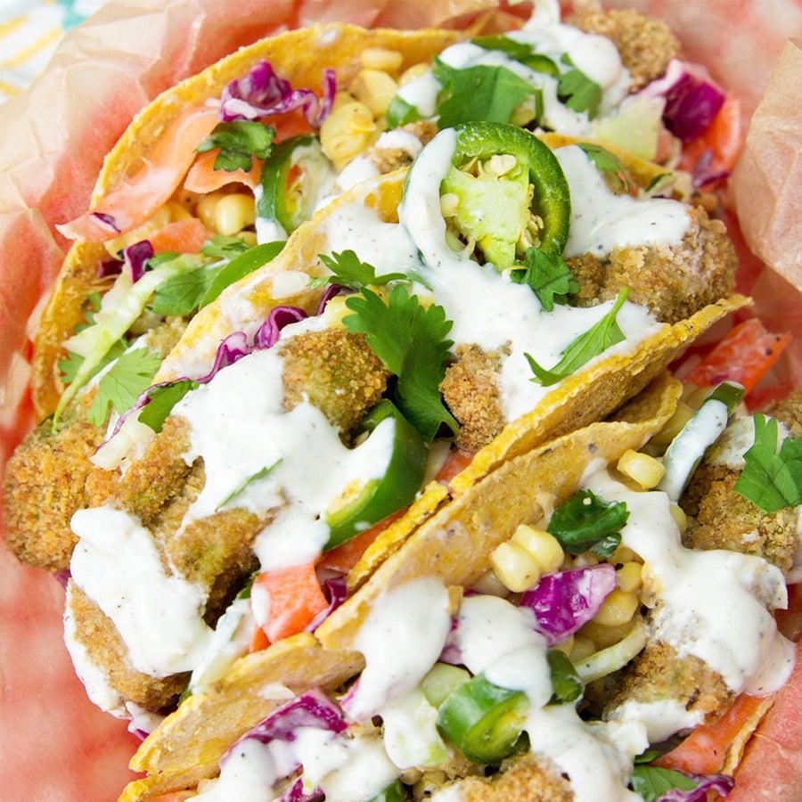 Baked Avocado Tacos