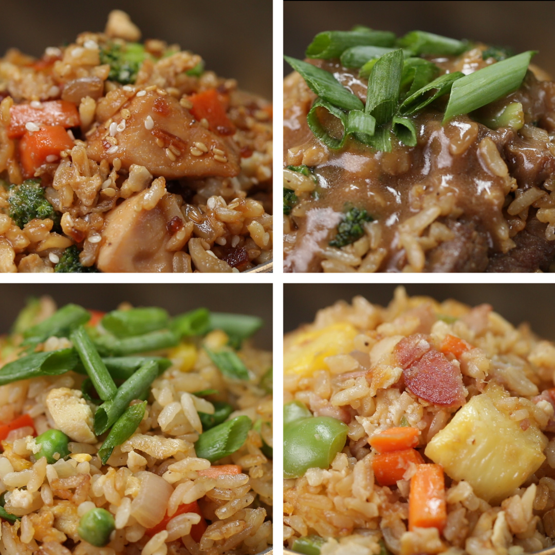 Kid friendly fried rice 4 ways recipes ccuart Choice Image