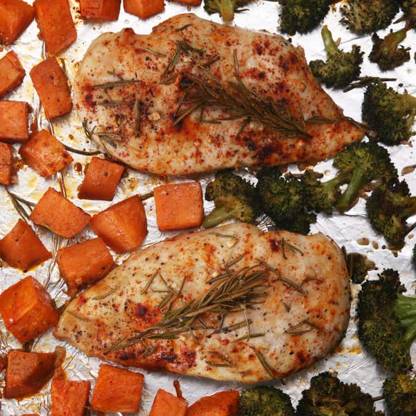 One Pan Herbed Chicken And Veggies Recipe By Tasty